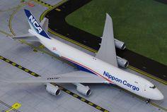 1/200 GeminiJets NCA Nippon Cargo Airlines 747-8F Diecast Model