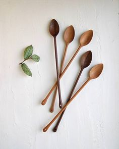 Have a great weekend! Wooden Spoon Carving, Carved Spoons, Wood Spoon, Rustic Spoons, Wooden Ladle, Spoon Art, Wood Sculpture, Abstract Sculpture, Bronze Sculpture