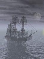 Virginia's Old House Woods, A phantom ghost ship.