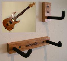 Make a DIY hanger for the guitar