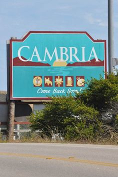 Cambria, California, close to Hearst Castle. Pretty places to be ! Places In California, California Coast, California Dreamin', California Wedding, Atascadero California, Cambria California, Wedding Minister, San Simeon, San Luis Obispo County
