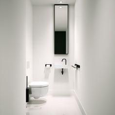 Hammock toilet, New Flush matt black tap and drain set, Lineabeta accessories Black Toilet, Small Toilet, Decoration Inspiration, Bathroom Inspiration, Bathroom Design Small, Bathroom Interior Design, Modern Toilet, Toilet Accessories, Toilet Design