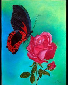 Título Atracción  Pintura a Pastel  Nuria Ruiz