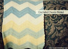 how to make a crocheted chevron blanket (in crochet language...which is foreign...which means I must learn it!)