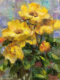 Art Talk - Julie Ford Oliver: The Other Yellow Roses