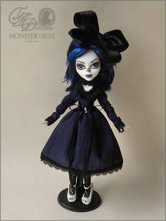 Monster High Custom Blue Dress