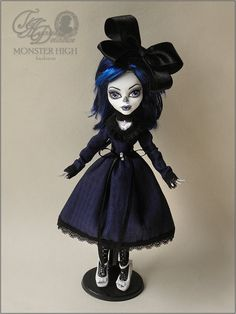 Monster High Custom Blue Dress