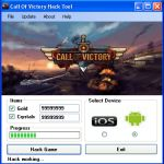Download free online Game Hack Cheats Tool Facebook Or Mobile Games key or generator for programs all for free download just get on the Mirror links,Call of Victory Hack Cheat Tool Free The Game Info: Hello guys today we added a new game with his hack tool :The game developers are waiting for your challe