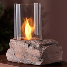 Real Flame Ledgerock Tabletop Fireplace