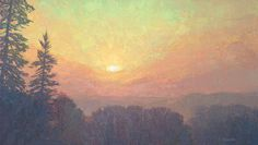 Breaking Day  24 x 42 inches, oil on linen On Nature's Terms: Paintings of Thomas Paquettte