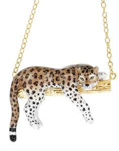 Boucles D/'oreilles Créoles Empreinte Animale Conception Léopard et Jaguar