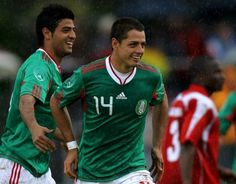 Chicharito y Vela descartados para Londres 2012