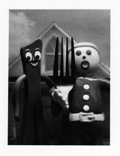 The New American Gothic by spidgeon.deviantart.com on @deviantART Gumby and Mr. Bill