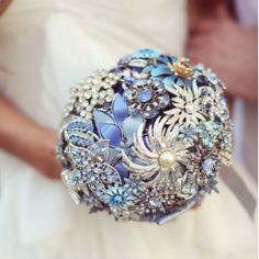 I will have a brooch bouquet!