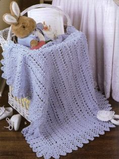 Easy free baby blanket crochet patterns for beginners and experts