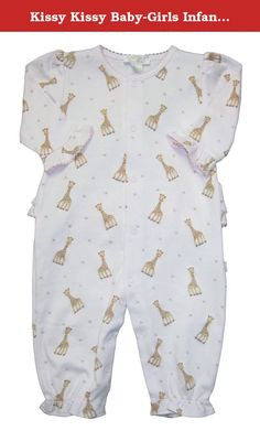 Kissy Kissy Baby One Piece Kimono Jumpsuit White Pink Purple Butterfly Floral