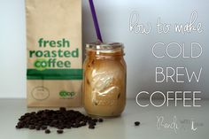 How to brew the best iced coffee.