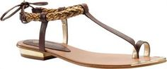 Women's Isola Adena - Dark Brown/Brass