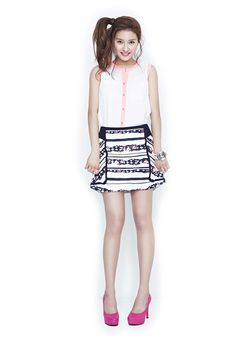 Kim So Eun's Killer Cuteness For Y'sb's Summer 2013 Campaign : Couch Kimchi