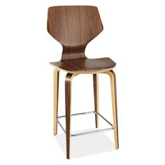 Pike Counter Stool with Wood Legs - Counter & Bar Stools - Dining - Room & Board