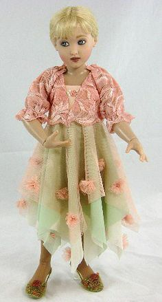 Lace & Gossamer Lark by Helen Kish, souvineer doll of the 2009 Modern Doll Collectors Convention.