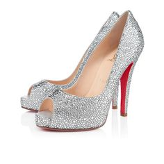 Christian Louboutin very riche strass Crystal 120mm Strass Womens Special Occasion