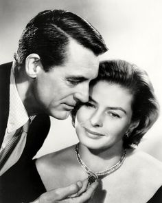 Cary Grant and Ingrid Bergman - INDISCREET