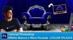 Tutorial per photoshop per creare un bianco e nero parziale ( Color Splash ) che ci aiuterà a prelevare un colore e a isolarlo dagli altri colori della foto.
