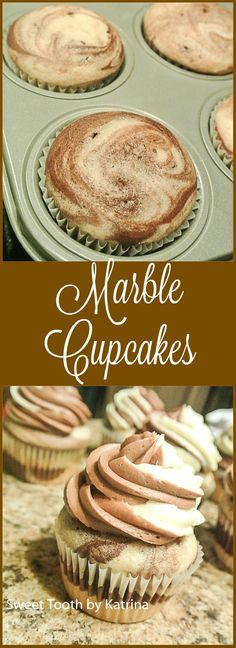 Enjoy the best of both worlds in this deliciously soft and fluffy cupcake!!
