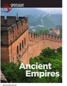 Here's a free infopacket on Ancient Empires from Kids Discover. Includes Ancient China, Egypt, and Rome.