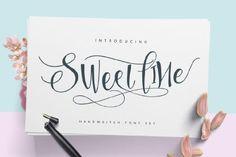 Sweetline Script Free Demo * #free #freefont #fontdownload #graphicdesign #typography #art #design #graphicart #download #typeface