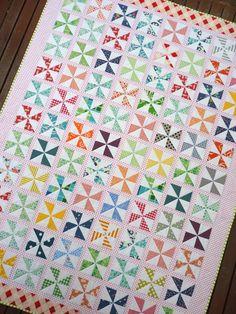 Pinwheels on Parade Quilt Pattern (pdf file)