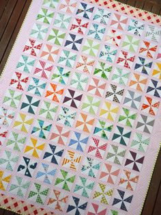 Pinwheels on Parade is a traditional quilt pattern using modern fabrics, and is suitable for a beginner to intermediate sewer. It requires experience in rotary cutting and basic straight line sewing. It is a fresh and modern pattern based on just one traditional quilt blocks.Pinwheels on Parade, the quilt pattern, is user-friendly and provides not only a step by step guide to machine piecing, but also details handy hints and tips which will assist in the successful completion of...