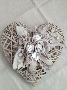 crafty White Things white collar jobs near me Wicker Hearts, Wooden Hearts, Decoration Shabby, Creation Deco, Heart Wreath, Door Wreath, I Love Heart, Heart Crafts, Valentine Decorations