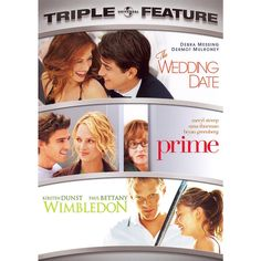 The Wedding Date/Prime/Wimbledon [3 Discs]