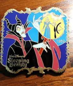 Disney Pin - History of Art - Sleeping Beauty 1959 Maleficent LE #22535