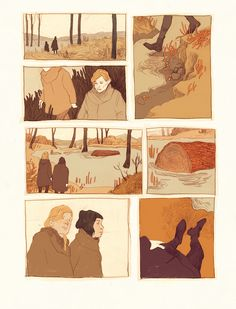 "comic based on the short story ""the found boat"" by alice munro"