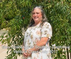 Teen Challenge of Southern California, Ventura Class, July 2017.
