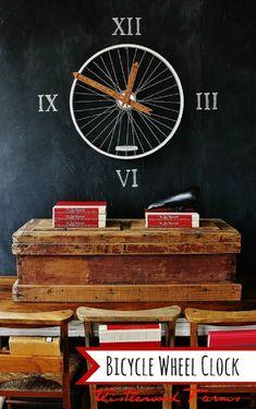 Top 10 DIY Ideas How to Reuse Old Bike Wheels - Top Inspired