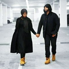Couple muslim fashion