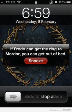 Definitely using this as an alarm!