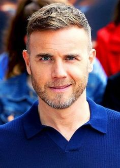 Gary Barlow, I love beards! Best Undercut Hairstyles, I Love Beards, Gary Barlow, Beard Styles, Haircuts For Men, Bearded Men, Beautiful Men, Sexy Men, How To Look Better