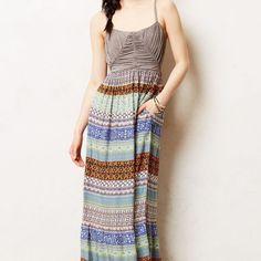 4aacb3205d1c Anthropologie Print Maxi Dress Plaits, Fashion Stylist, Dress Outfits, Maxi  Dresses, Fashion