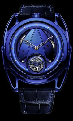 The 19 Best Cutting-Edge Timepieces for the Futuristic Watch Lover De Bethune – Art blaues Tourbillon Amazing Watches, Best Watches For Men, Luxury Watches For Men, Beautiful Watches, Cool Watches, Unique Watches, Big Watches, Elegant Watches, Vintage Watches