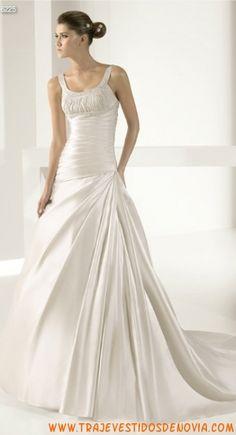 6225  Vestido de Novia  White One