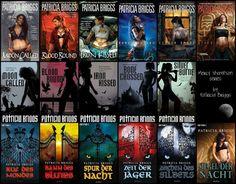 Patricia Briggs Mercy Thompson series
