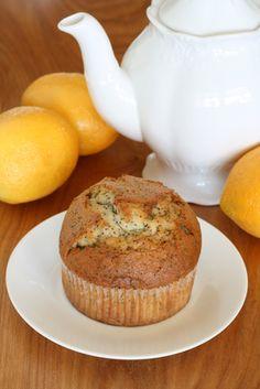 Paleo Lemon Poppy Seed Muffin...try using chia seeds instead of poppy seeds.