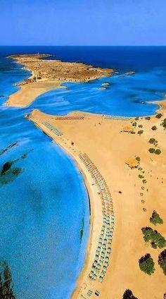 Elafonissi Beach, Crete Island, Greece
