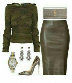 40700f2623 38 Best green leather skirt images | Green leather skirt, Skirt ...