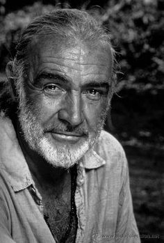 Sean Connery...all men should age as wonderful as this amazing gentleman has.